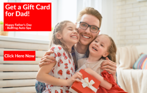 Bullfrog Auto Spa Father's Day Gift Card