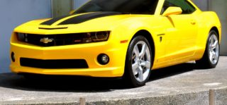 Yellow Camaro
