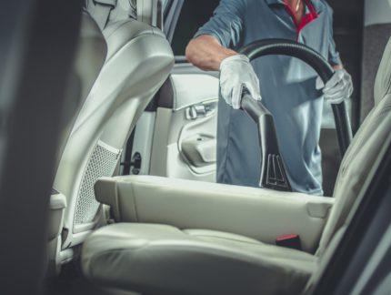Professional Car Vacuuming